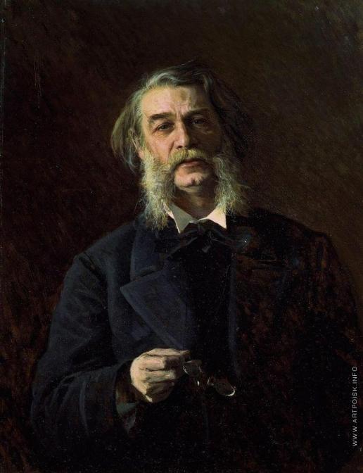 Крамской И. Н. Портрет писателя Дмитрия Васильевича Григоровича