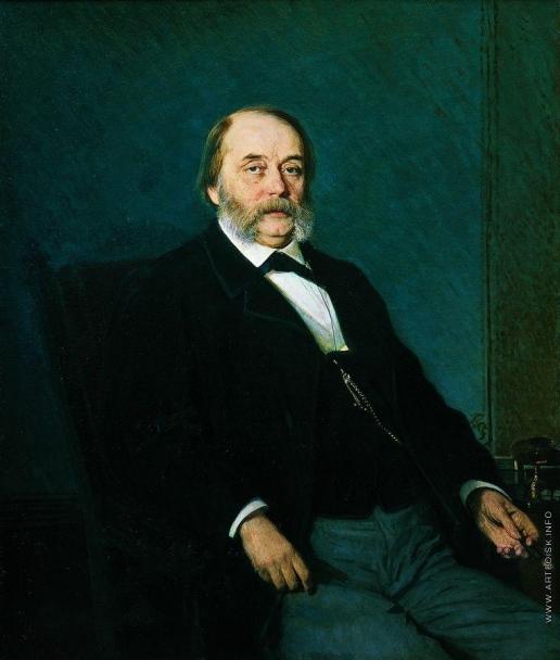 Крамской И. Н. Портрет писателя Ивана Александровича Гончарова