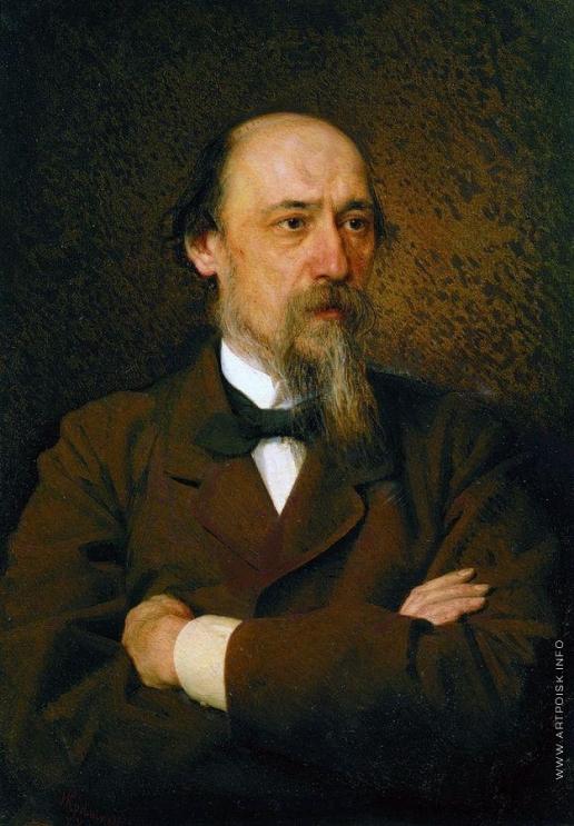 Крамской И. Н. Портрет поэта Николая Алексеевича Некрасова