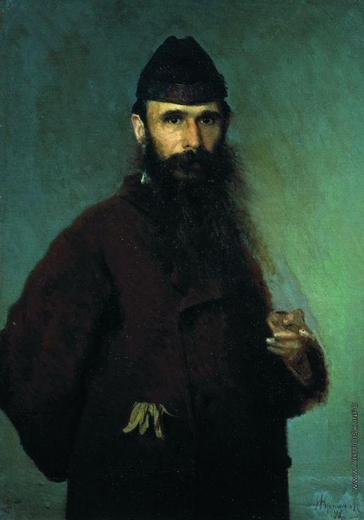 Крамской И. Н. Портрет художника Александра Дмитриевича Литовченко