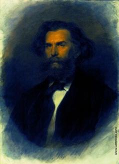 Крамской И. Н. Портрет художника Алексея Петровича Боголюбова