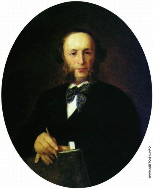 Крамской И. Н. Портрет художника И.К. Айвазовского