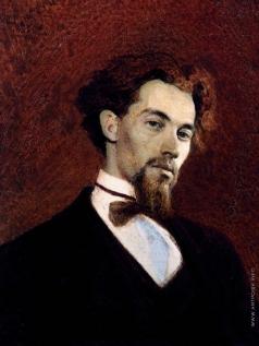 Крамской И. Н. Портрет художника К.А.Савицкого