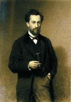 Крамской И. Н. Портрет художника М.К. Клодта