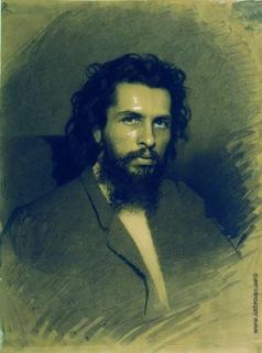 Крамской И. Н. Портрет художника Николая Андреевича Кошелева