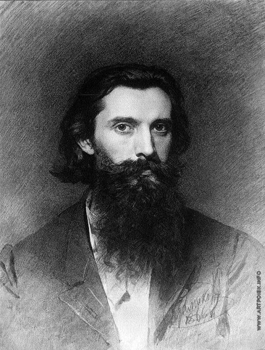 Крамской И. Н. Портрет художника Николая Дмитриевича Дмитриева-Оренбургского