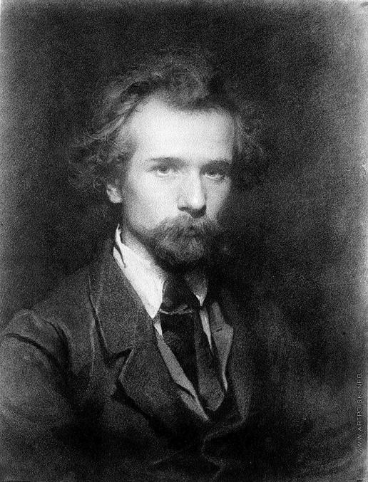 Крамской И. Н. Портрет художника Павла Петровича Чистякова