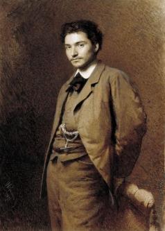Крамской И. Н. Портрет художника Ф.А.Васильева