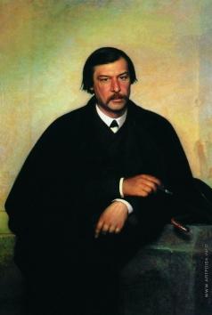 Крамской И. Н. Портрет художника и фотографа Михаила Борисовича Тулинова