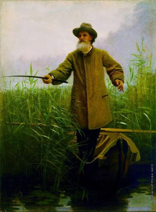 Крамской И. Н. Поэт Аполлон Николаевич Майков