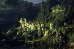 Крамской И. Н. Русалки (Майская ночь)