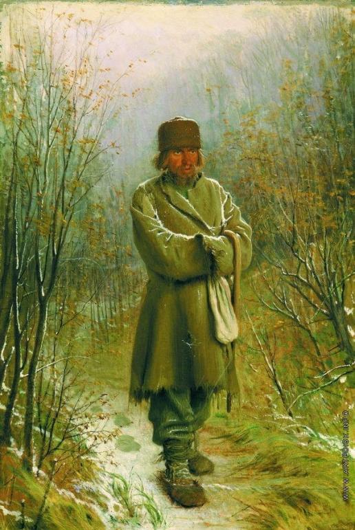 Крамской И. Н. Созерцатель