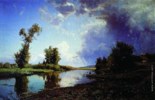 Крачковский И. Е. Перед грозой. В конце лета