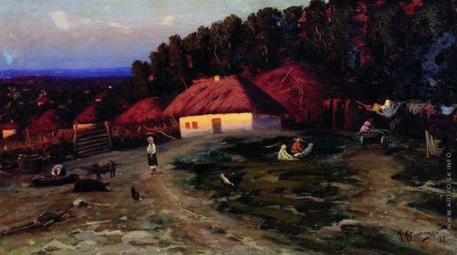 Крыжицкий К. Я. Вечер на Украине