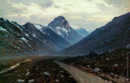 Крыжицкий К. Я. Дорога в горах