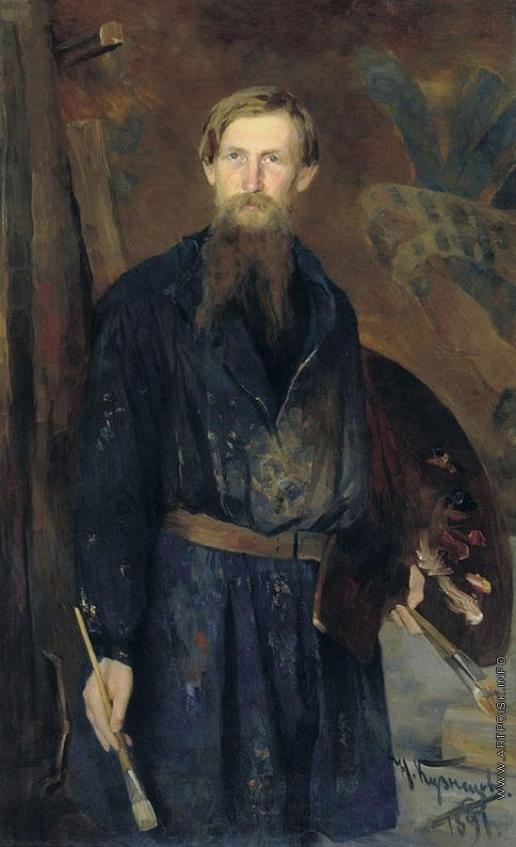 Кузнецов Н. Д. Портрет В.М.Васнецова