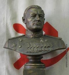 Абарин П. И. Бюст Н.Г. Кузнецова