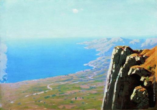 Куинджи А. И. Берег моря со скалой