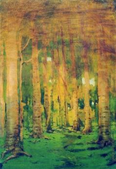 Куинджи А. И. Березовая роща. Пятна солнечного света. 1890-