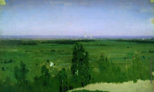 Куинджи А. И. Вид на Москву с Воробьевых гор
