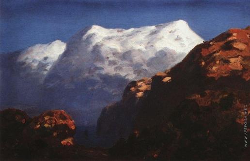 Куинджи А. И. Горы. 1890-
