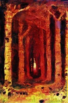 Куинджи А. И. Закат в лесу