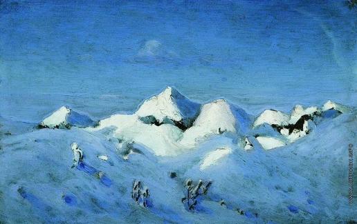 Куинджи А. И. Зима