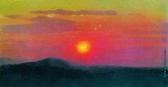 Куинджи А. И. Красный закат