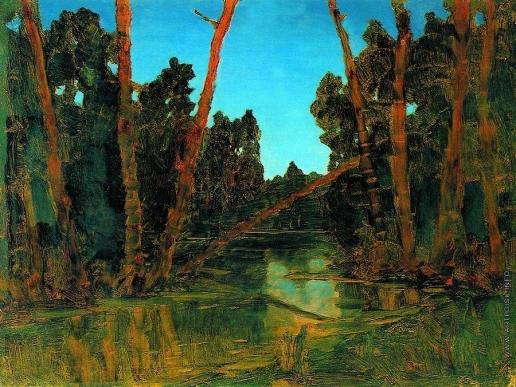 Куинджи А. И. Лесное болото. 1898-