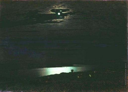 Куинджи А. И. Лунная ночь на Днепре
