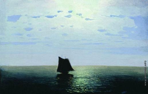 Куинджи А. И. Лунная ночь на море