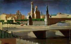 Куинджи А. И. Москва. Вид на Кремль со стороны Замоскворечья