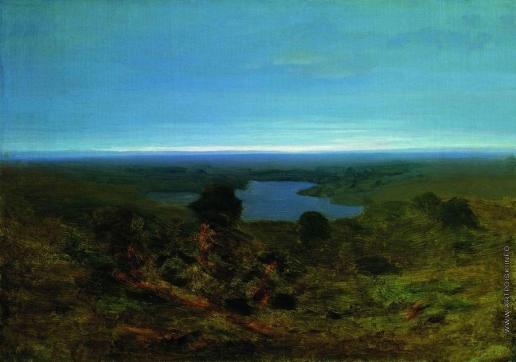 Куинджи А. И. Озеро. Вечер. 1890-1895; 1898-