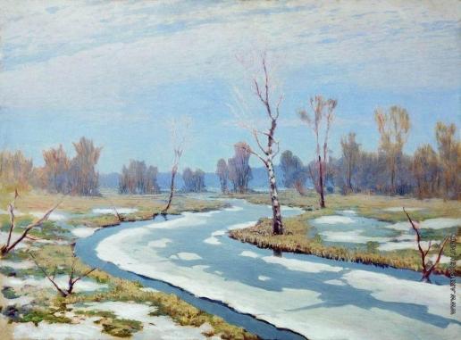 Куинджи А. И. Ранняя весна. 1890-