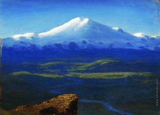Куинджи А. И. Снежные вершины. 1890-