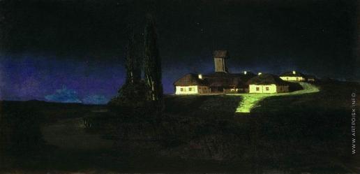 Куинджи А. И. Украинская ночь