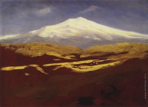 Куинджи А. И. Эльбрус днем. 1898-