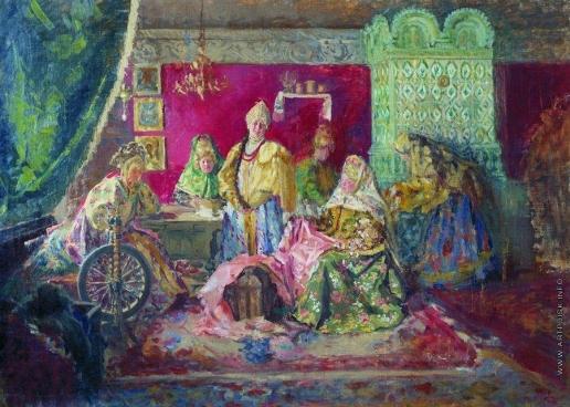 Куликов И. С. В боярском тереме. 1906-
