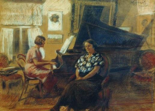 Куликов И. С. За роялем