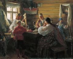 Куликов И. С. Зимним вечером