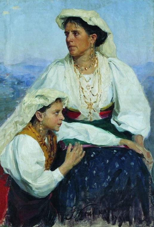 Куликов И. С. Итальянки