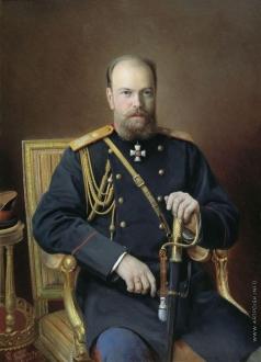 Куликов И. С. Портрет Александра III