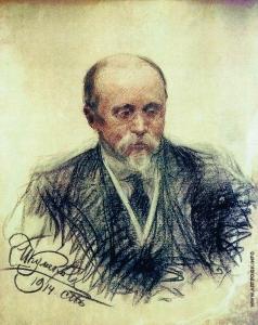 Куликов И. С. Портрет М.О.Меньшикова