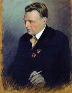 Куликов И. С. Портрет летчика В.П.Чкалова