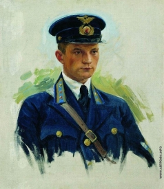 Куликов И. С. Портрет летчика М.М.Матвеева