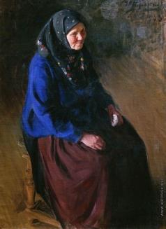 Куликов И. С. Портрет моей матери