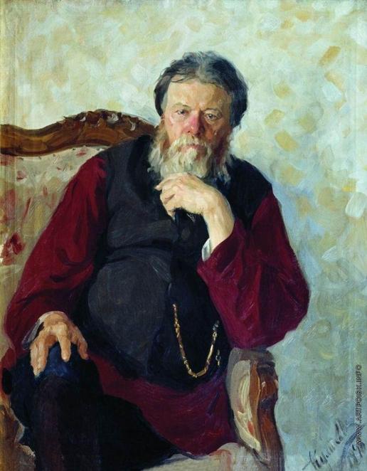 Куликов И. С. Портрет отца