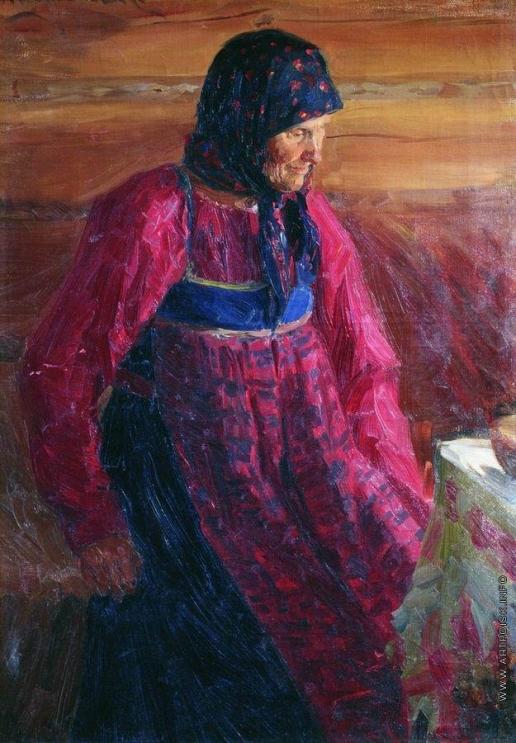 Куликов И. С. Старуха Дарья из Прудищ