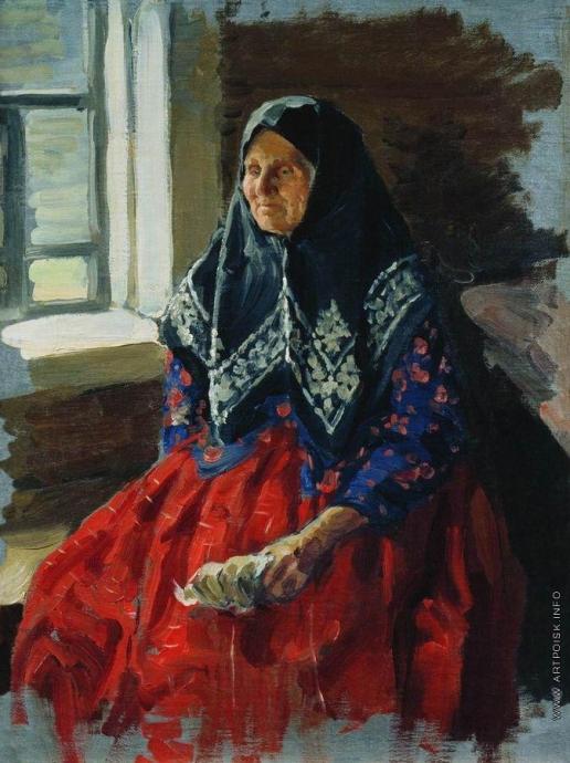 Куликов И. С. Старушка из Нежиловки