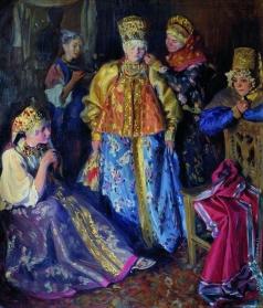 Куликов И. С. Убор невесты